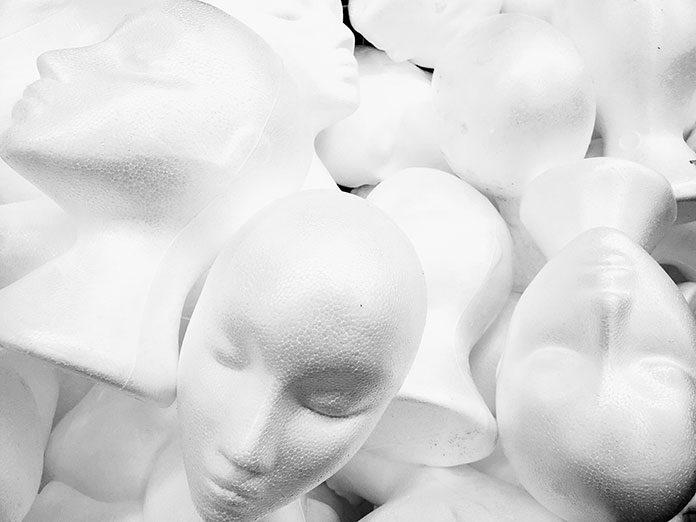 Głowa manekina – do ekspozycji i nie tylko